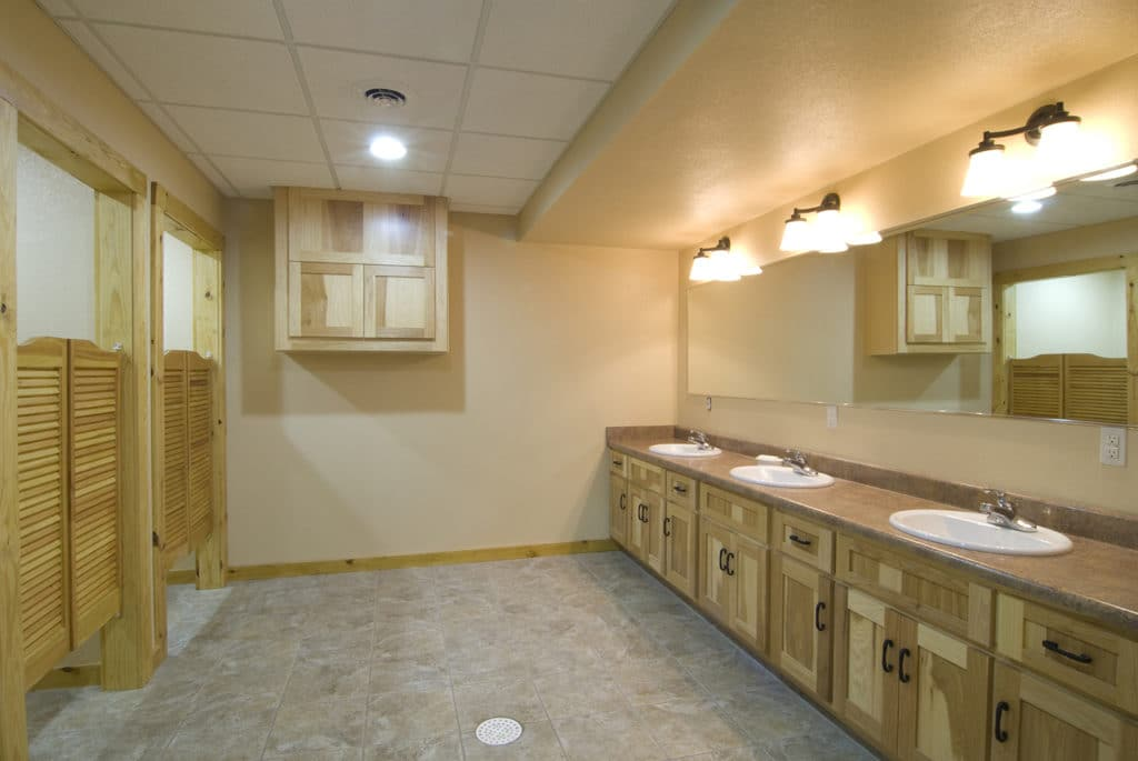 Bathrooms - Jabez Retreat Center