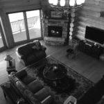 500 by 500 living room b&w